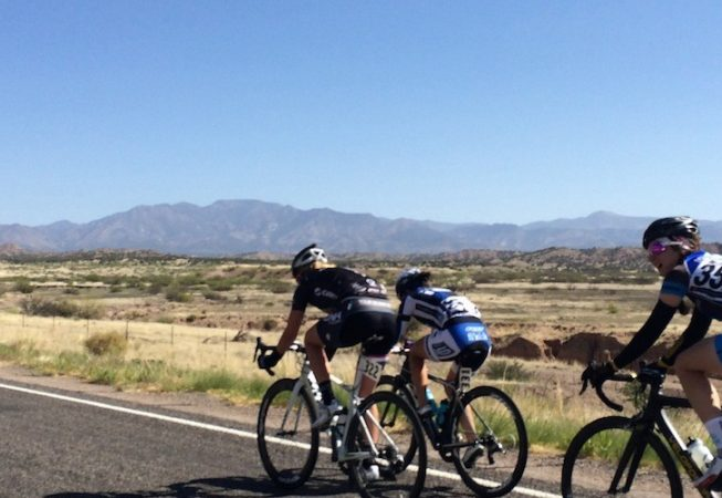 AGC rolling the break ot Tour of the Gila!