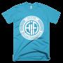 HiFi White Disc Logo - Turquoise