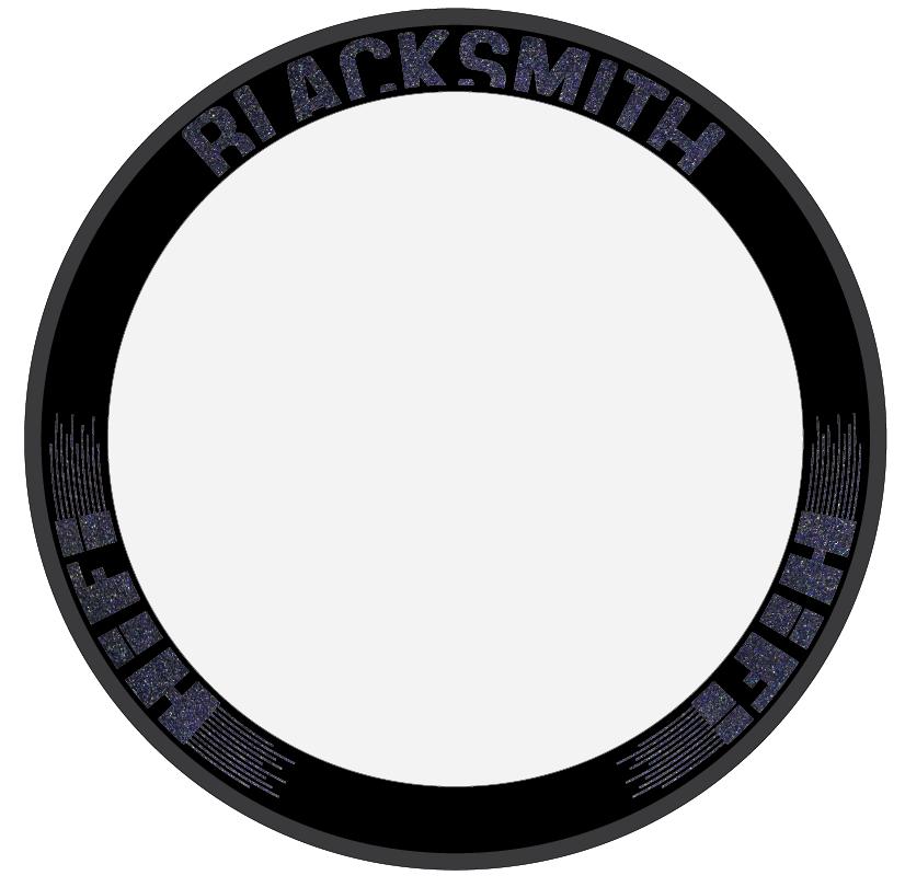 Custom Blacksmith carbon clinchers
