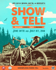 Show & Tell Event poster