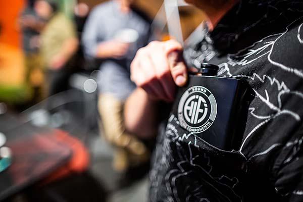 HiFi Flask in pocket