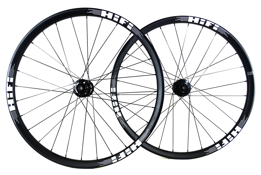 27.5 Session30 Boost carbon MTB wheels