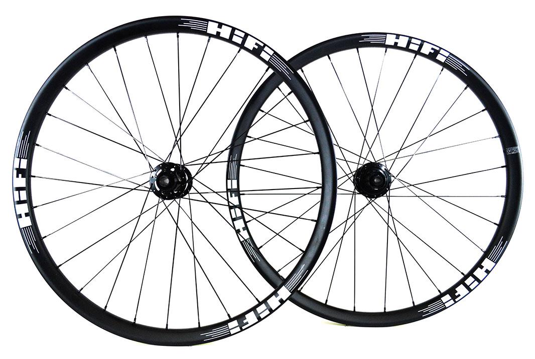 27.5 Session30 Boost carbon MTB wheels