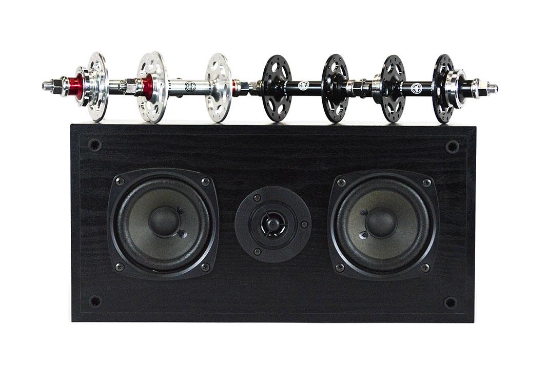 HiFi AMP Pista fixed gear track hubs