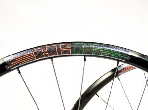 Cyclocross Crusade custom HiFi disc thru axle cyclocross wheels