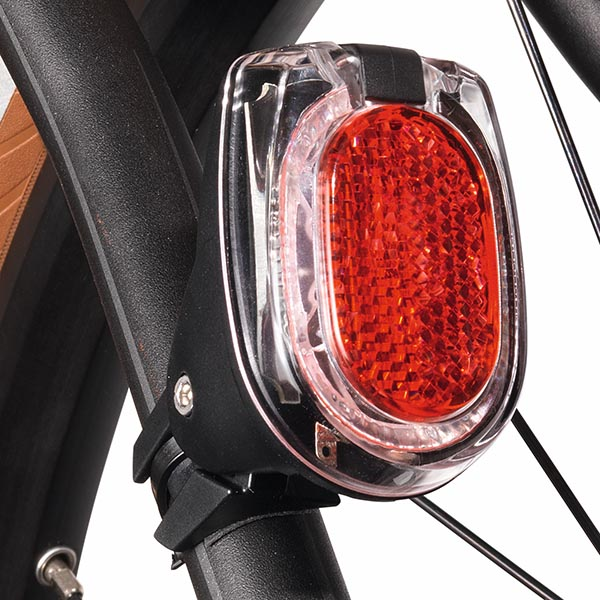 Busch and Müller Secula Plus Dynamo Rear Light -- Strut Attachment