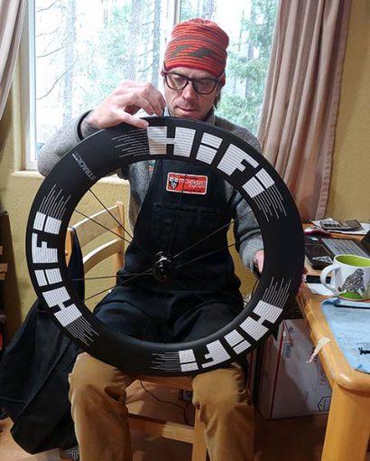 HiFi hand built wheels and social distancing